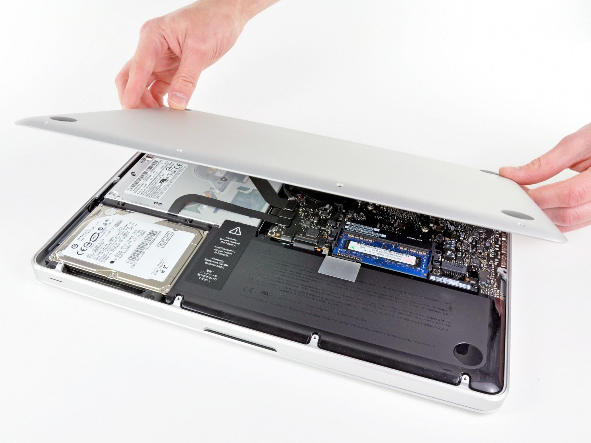 Профилактика (чистка, замена термопасты) системы охлаждения MacBook